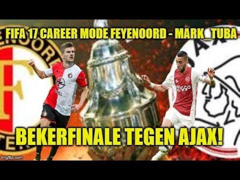 FIFA 17 Career Mode Feyenoord #333 - BEKER FINALE TEGEN AJAX!