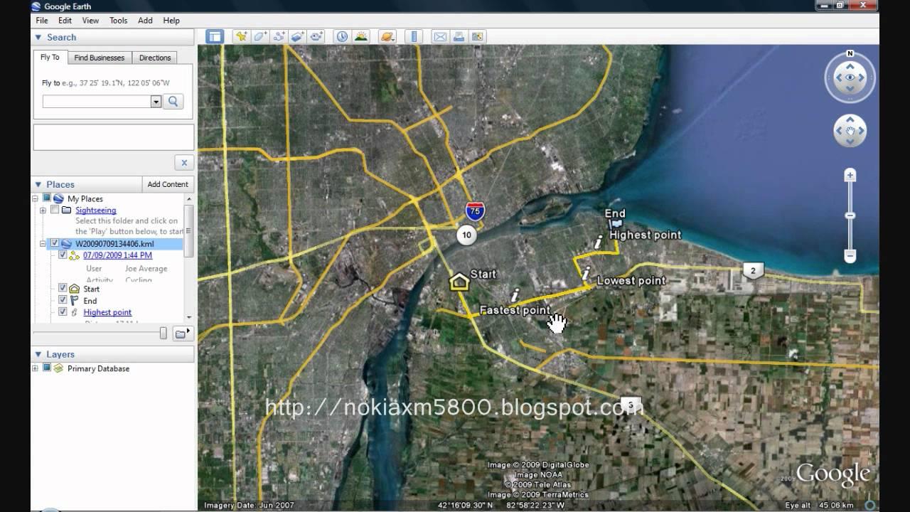 Google Maps и Google Локатор на Nokia 5530 и Nokia 5800.
