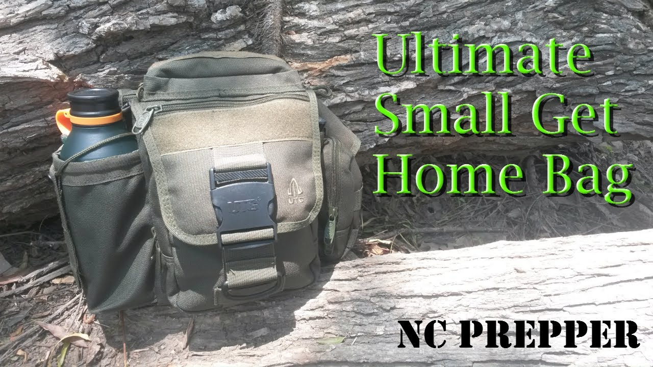 Bug Out House : Ultimate small get home bug out bag youtube
