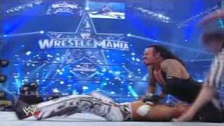 Wrestlemania 25 The Undertaker V.s Shawn Michaels