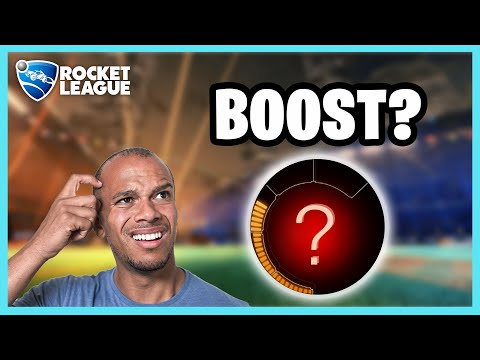 Rocket League Funny Moments With Friends - How Much Boost Do You Have?