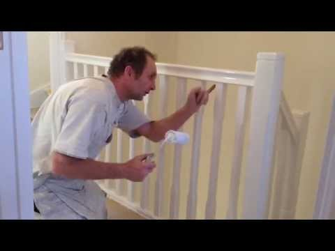 How to gloss a staircase. Painting and Decorating.