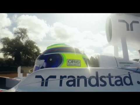 Williams FW36 test run