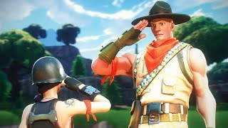 Fortnite Random Duos...but we're in the ARMY!?