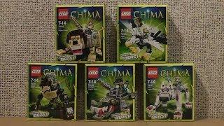 NOWOŚCI STYCZEŃ 2014 LEGO CHIMA LEGENDARNE BESTIE