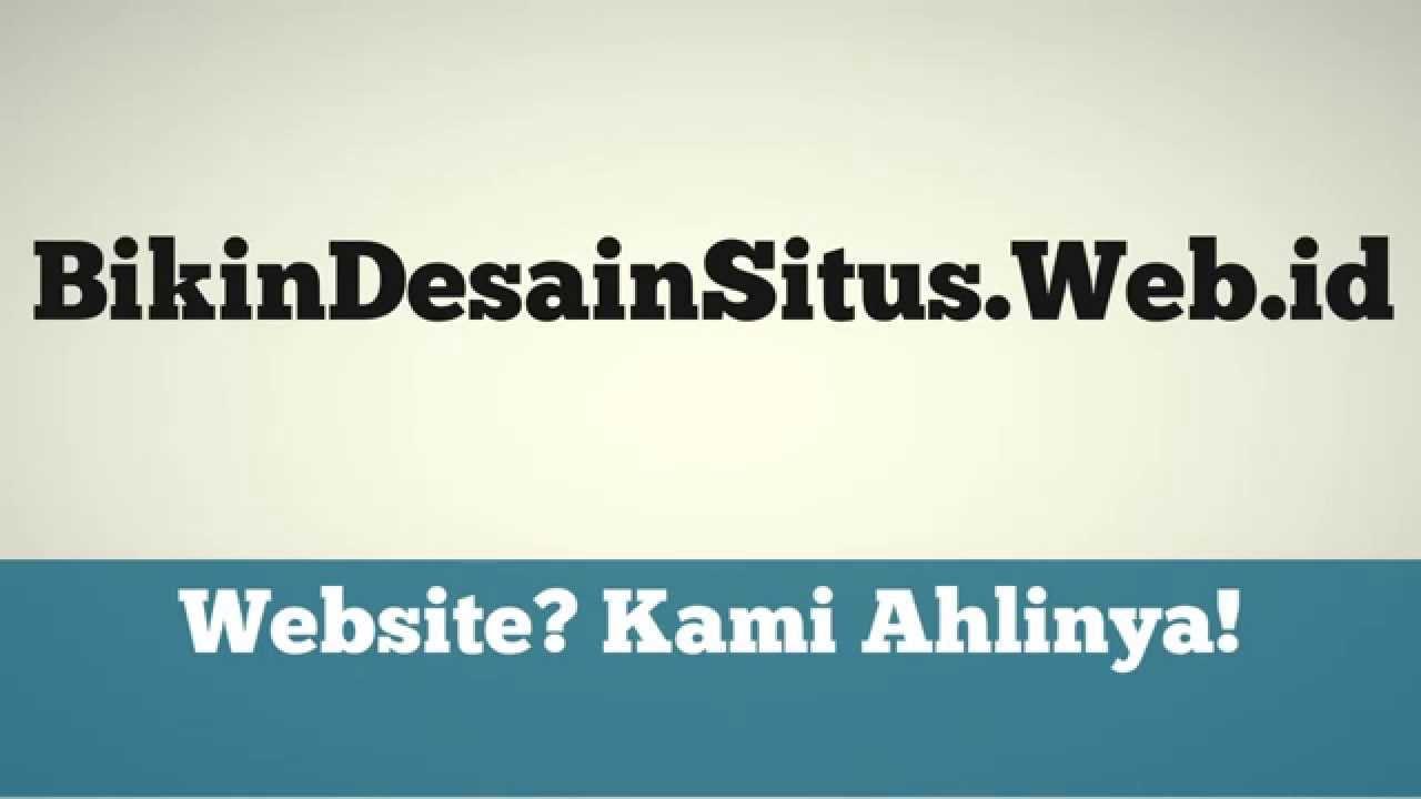 Jasa Pembuatan Website Situs Toko Online BikinDesainSituswebid