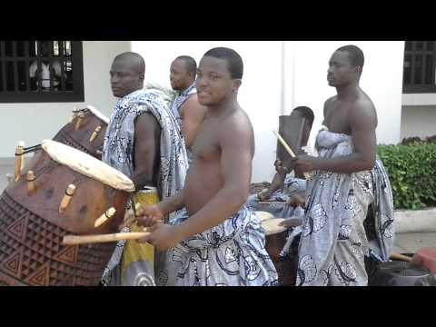 Drumming on UG campus Legon