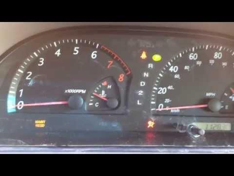 Reset Maintenance Light Toyota Camry 2014 Reset
