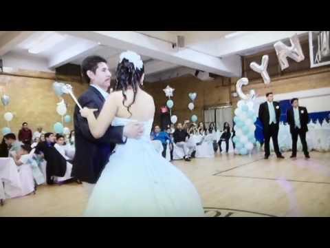 Cynthia Delgado Father Daughter Dance Sweet 16 July 2, 2016