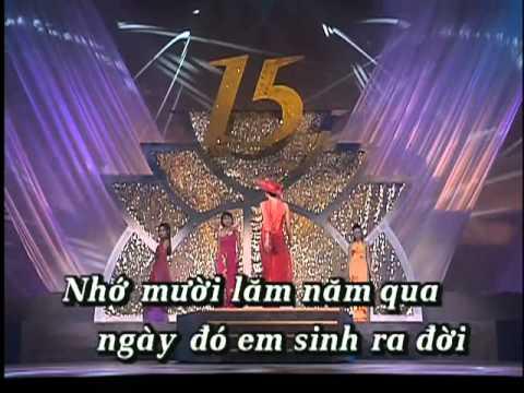 Chúc Mừng - Hợp Ca (Trình Diễn Áo Dài - Karaoke)