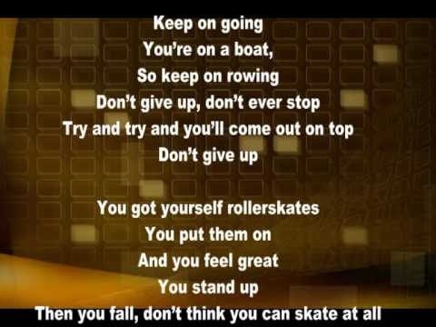 Bruno Mars Don't Give Up Lyric
