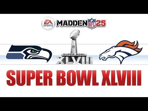 Madden NFL 25 - Super Bowl XLVIII - Seattle Seahawks vs Denver Broncos - Richard Sherman MVP
