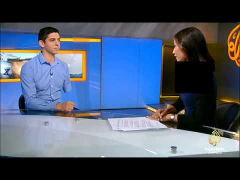 IDF Soldier Izzy Ezagui on Al Jazeera