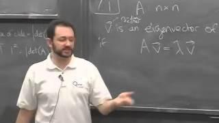 Lec 08 - Linear Algebra | Princeton University