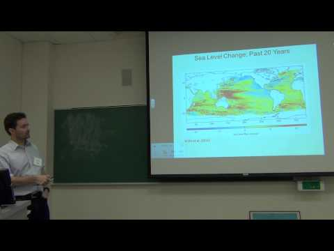 Dr. Glenn Milne talks sea level change at AESRC 2014