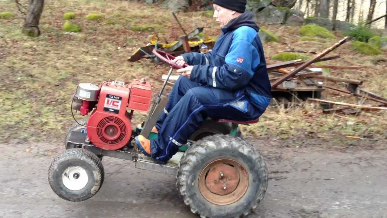 Small Homemade Tractors : Homemade tractor car interior design