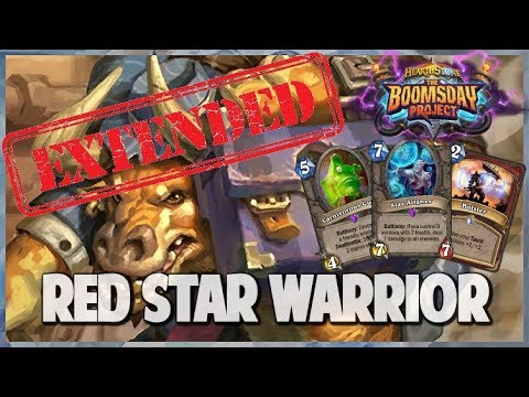 Red Star Warrior | Extended Gameplay | Hearthstone | Boomsday Project