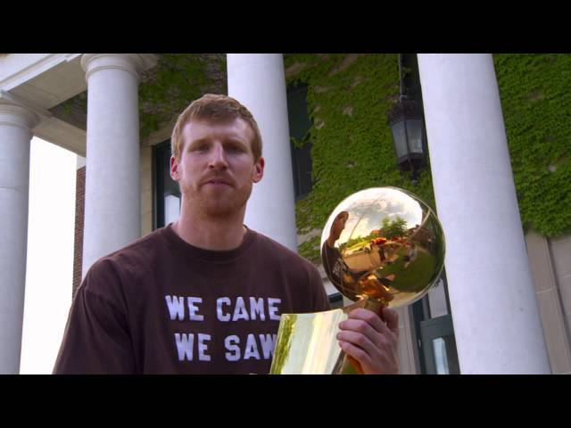 Spurs Championship Trophy Tour:  Matt Bonner in New Hampshire