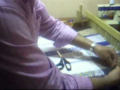 Tapete Artesanal com tiras de malha fria  video  03.wmv