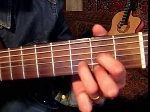 Видео урок. 50 приёмов  гитарной игры (фрагментально)