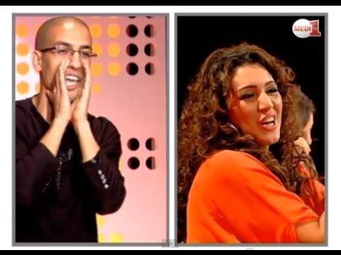 سكيتش يسار حول الأغاني المغربية و الشرقية