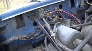 blue f 150 battery cable replacement youtube rh youtube com