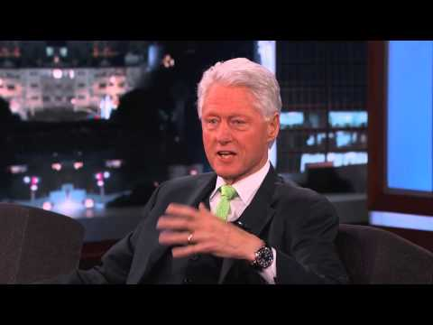 Bill Clinton on Roswell, aliens, and Area 51 - Jimmy Kimmel Live