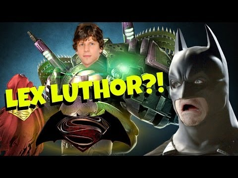 Jesse Eisenberg is Lex Luthor?!
