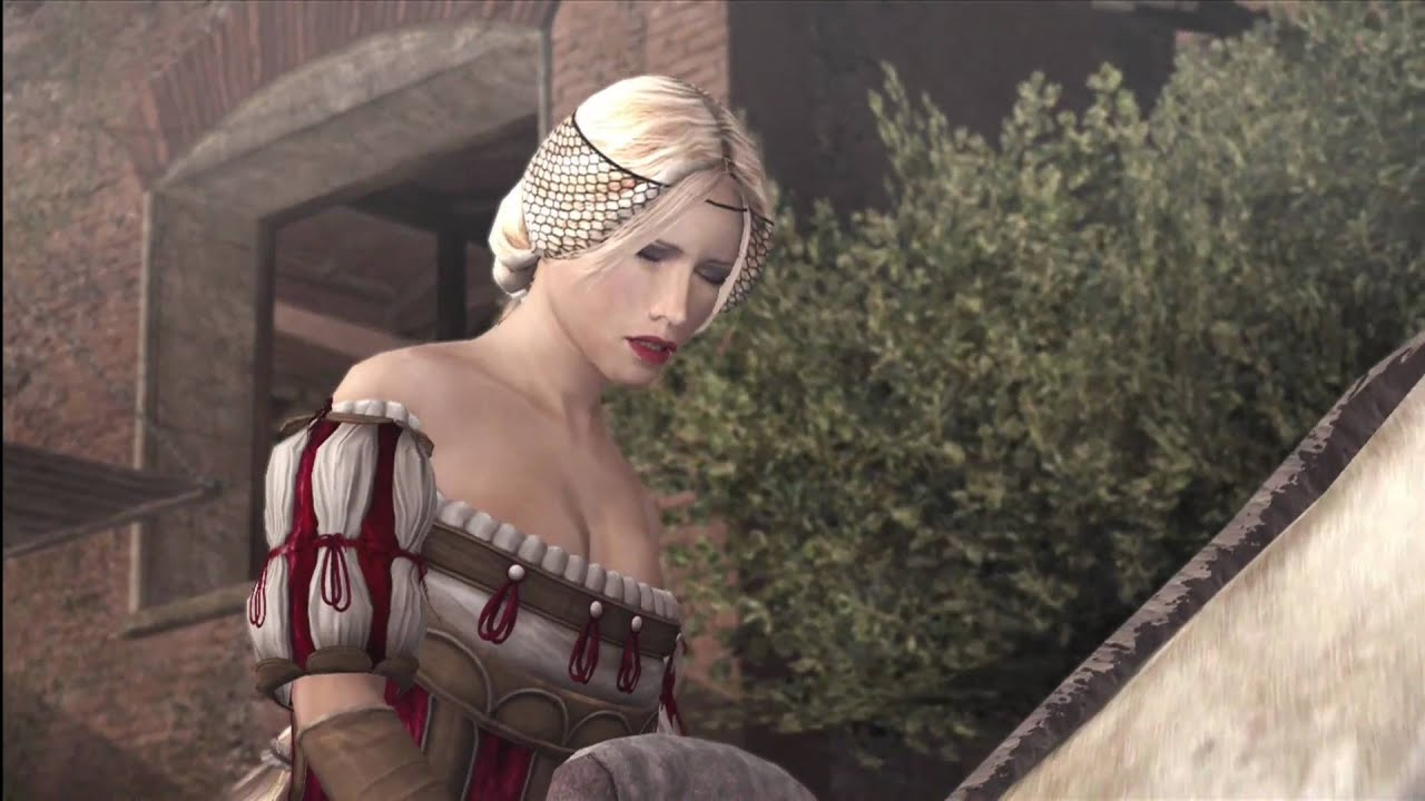 Claudia from assassin's creed brotherhood nude naked clip