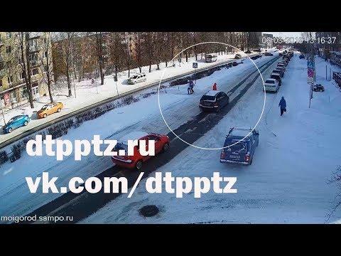 ДТП с пешеходом на Октябрьском проспекте
