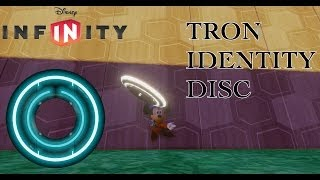 Disney Infinity TRON IDENTITY DISC GAMEPLAY (AND HOW TO