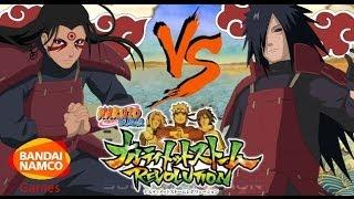 Naruto Ultimate Ninja Storm Revolution: Madara Vs Sage