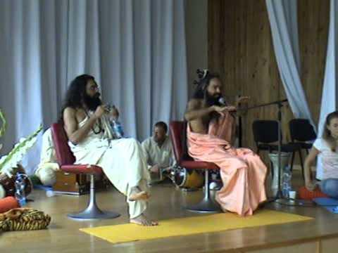 Шри Госвами Яшенду Джи, Шри Госвами Баленду Джи. Об энергии чакр (11.08.2007), ч.3