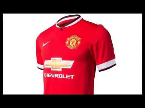 OFFICIAL Man Utd NEW KIT Leaked 2014/15 - Chevrolet & Nike