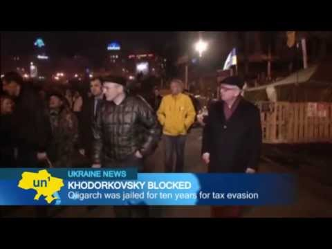 Khodorkovsky Blocked in East Ukraine: Russian oligarch turned away by Donetsk separatists