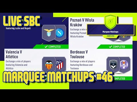 FIFA 18 - Marquee Matchups SBC #46 & Pack Opening