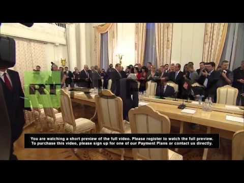 Russia: Kerry meets with Lavrov for bilateral talks