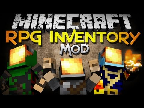 Minecraft Mod Showcase: RPG Inventory - Classes, Jewelry, Weapons, and MORE!