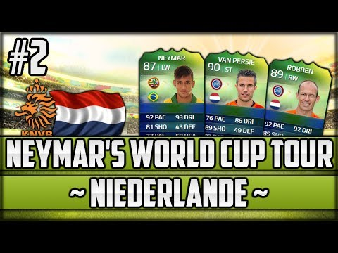 FIFA 14 Next Gen - Neymar's World Cup Tour - #2 - Niederlande