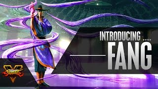 Street Fighter V - Character Introduction Series - F.A.N.G