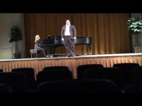 The Impossible Dream- Man of La Mancha- Hiram College Honors Recital 2016