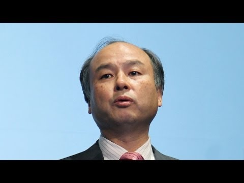 Masayoshi Son Hits the Wireless Speed Limit