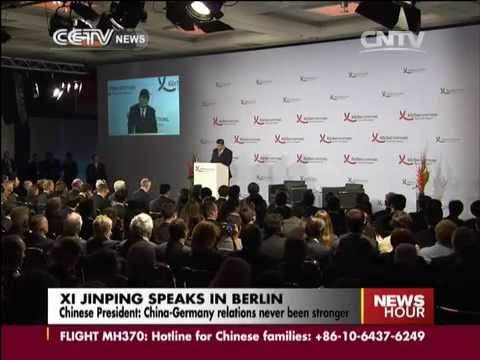 Xi: China-Germany relations never been stronger
