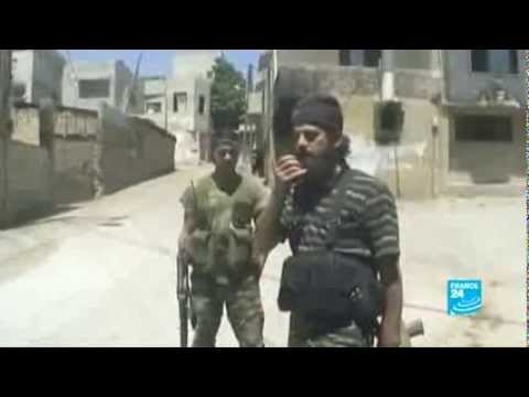 Syria - Rebels and Assad's forces face-off in Zabad
