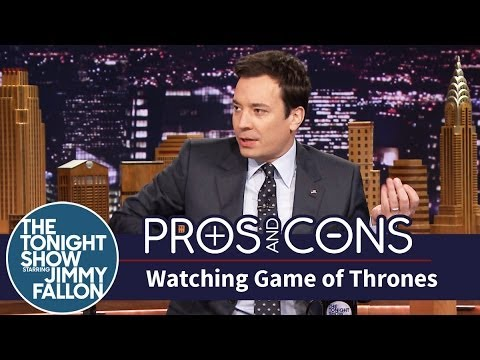 Pros and Cons: Watching Game of Thrones