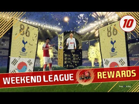 SIF SON!!! - ELITE 1 WEEKEND LEAGUE REWARDS #10 | PACK OPENING! - FIFA 18 FUT Champions