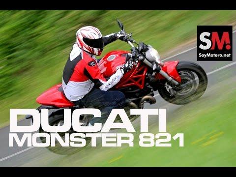 Presentación Ducati Monster 821 2015
