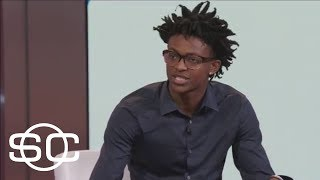 De'Aaron Fox Has Heard Lonzo Ball Will Have A Target On His Back | SportsCenter | ESPN
