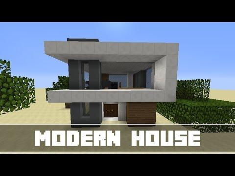 Minecraft - Cách Xây Nhà Hiện Đại Trong Minecraft