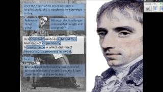 an analysis of william wordsworths poem she was a phantom of delight She was a phantom of delight by william wordsworth analysis: wordsworth compares his wife use in the poem she was a phantom of delight.